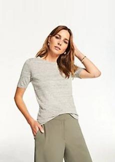Ann Taylor Linen Blend Sweater Tee