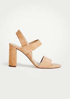 Ann Taylor Lorna Suede Sandals