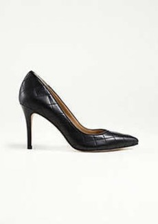 Ann Taylor Luisa Quilted Leather Pumps