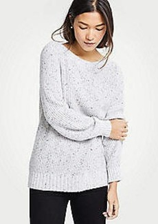 Ann Taylor Marled Boatneck Sweater
