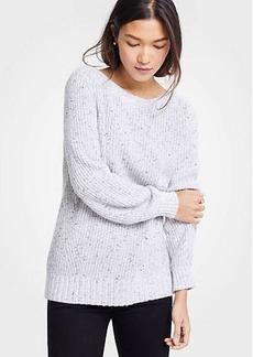 Ann Taylor Marled Boatneck Sweater