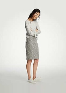Ann Taylor Marled Knit Pencil Skirt