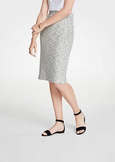 Ann Taylor Marled Knit Pencil Skirt