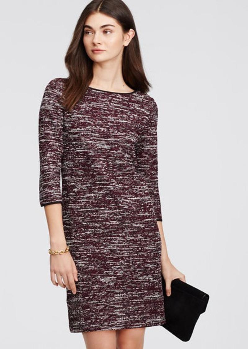Ann Taylor Marled Knit Sheath Dress Dresses