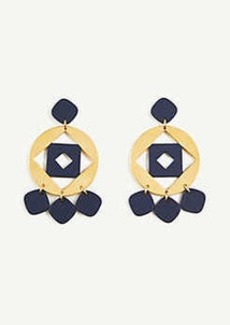 Ann Taylor Matte Metal Earrings
