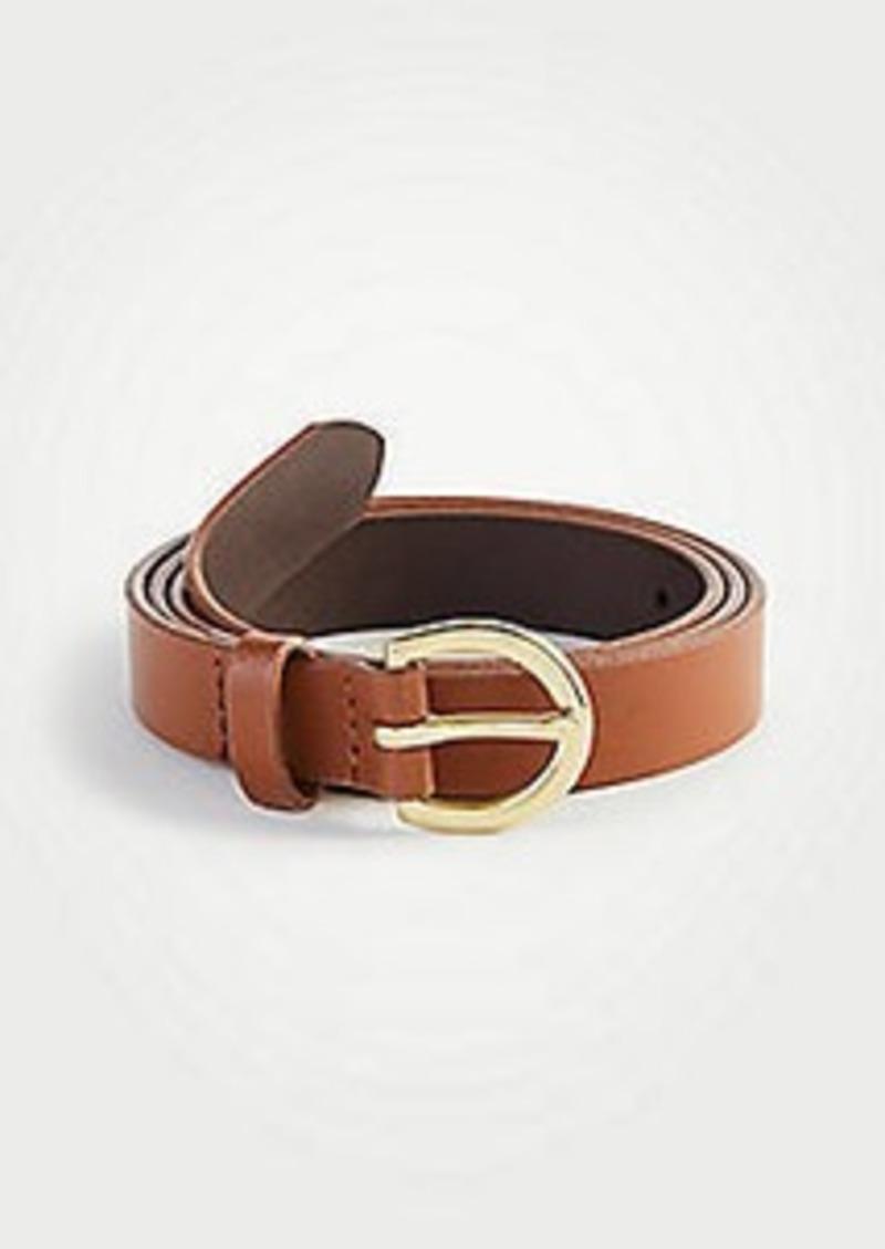 Ann Taylor Medium Leather Trouser Belt