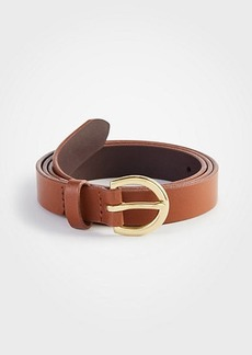 Ann Taylor Medium Leather Trouser Belt