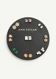 Ann Taylor Sparkle Stud Earring Set