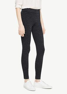 Ann Taylor Melange Side Zip Leggings