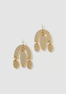 Ann Taylor Metal Drop Earrings