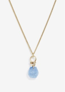 Ann Taylor Metal Pendant Necklace