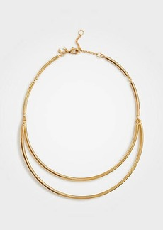 Ann Taylor Metallic Collar Necklace