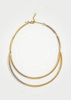 Ann Taylor Metallic Collar Necklace