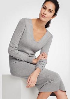 Ann Taylor Midi Sweater Dress