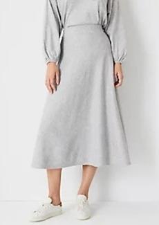 Ann Taylor Midi Sweater Skirt
