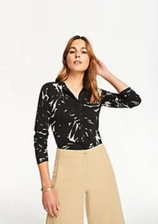 Ann Taylor Midnight Jungle Ann Cardigan