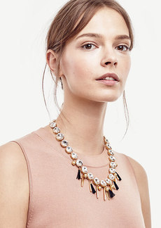 Ann Taylor Mixed Charm Necklace