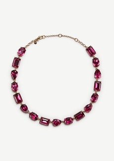 Ann Taylor Mixed Crystal Necklace