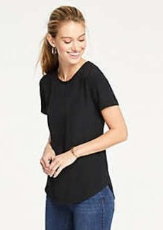 Ann Taylor Mixed Media Tee