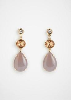 Ann Taylor Mixed Stone Drop Earrings
