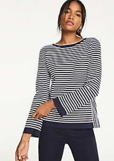 Ann Taylor Mixed Stripe Sweater