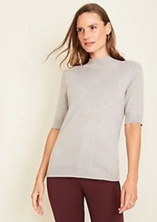 Ann Taylor Mock Neck Sweater