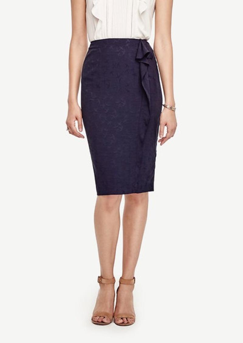 Ann Taylor Mockingbird Ruffle Skirt