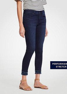 Ann Taylor Modern Fringe All Day Skinny Crop Jeans