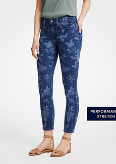 Modern Island Floral All Day Skinny Crop Jeans
