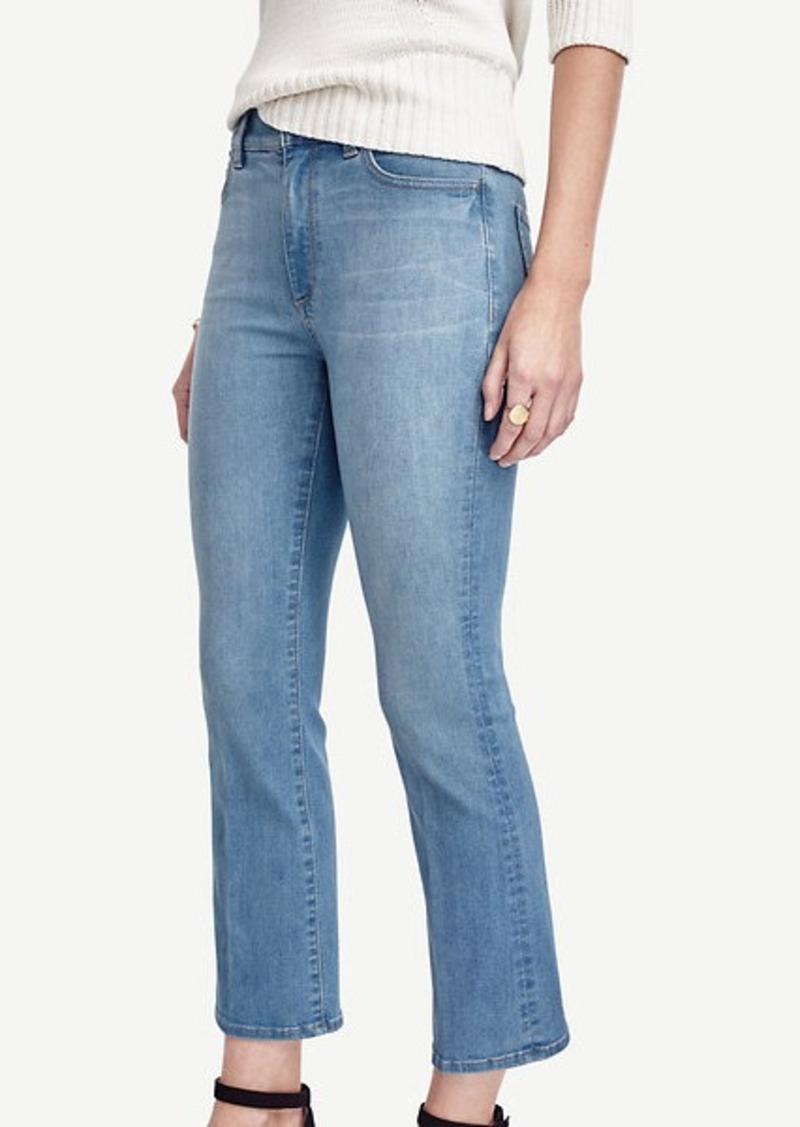 Ann Taylor Modern Kick Crop Jeans