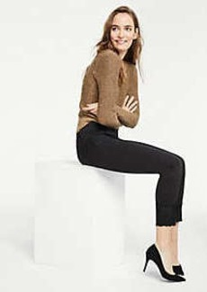 Ann Taylor Modern Lace Hem All Day Skinny Jeans