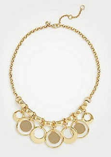 Ann Taylor Modern Metallic Statement Necklace