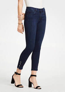 Ann Taylor Modern Pearlized All Day Skinny Jeans