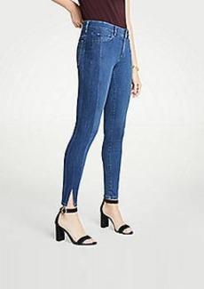 Ann Taylor Modern Side Stripe All Day Skinny Jeans