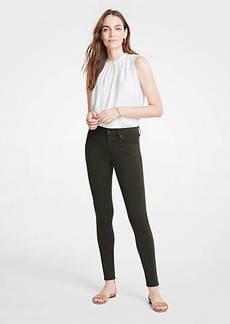 Ann Taylor Modern Skinny Jeans In Wild Moss Wash