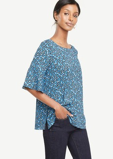 Morning Glory Flounce Sleeve Top