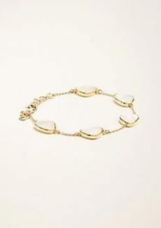 Ann Taylor Mother Of Pearl Drop Bracelet