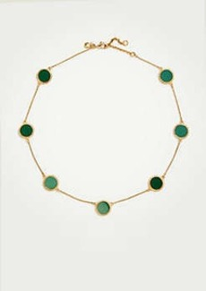Ann Taylor Circle Disc Necklace