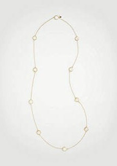 Ann Taylor Mother Of Pearl Station Necklace