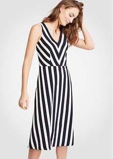 Nautical Stripe Flare Dress