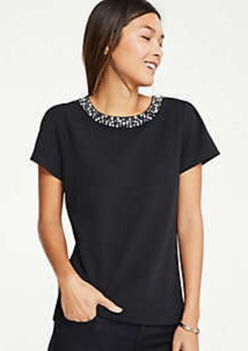 Ann Taylor Necklace Tee