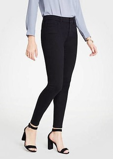 Ann Taylor Petite Curvy All Day Skinny Jeans in Black