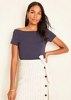 Ann Taylor Off The Shoulder Top