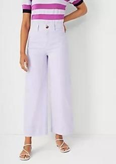 Ann Taylor The Onseam Pocket High Rise Wide Leg Jean