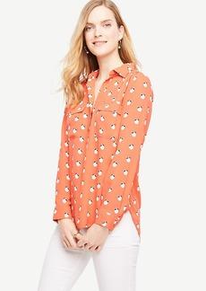 Orange Blossom Camp Shirt