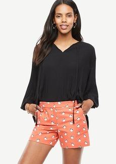 Ann Taylor Orange Blossom City Shorts