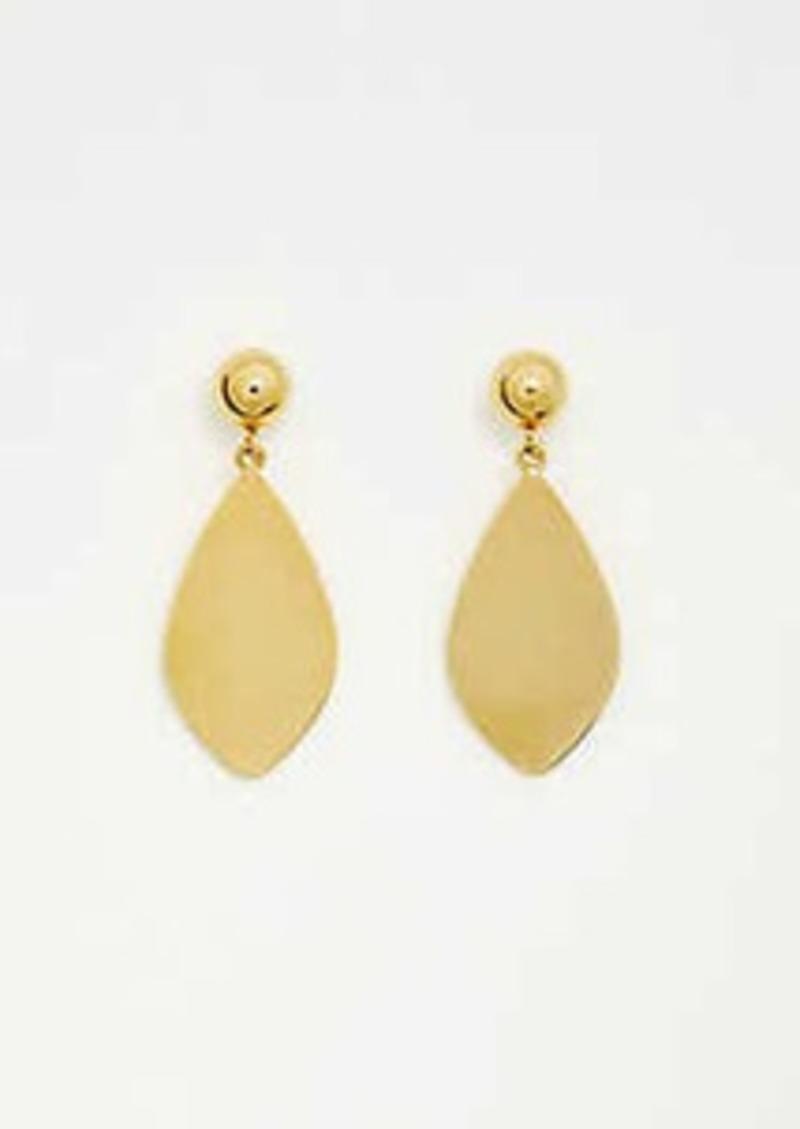 Ann Taylor Organic Metal Earrings