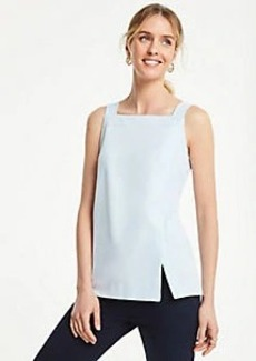 Ann Taylor Overlapped Square Neck Tank
