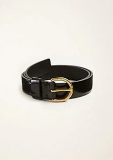 Ann Taylor Patent Leather Belt