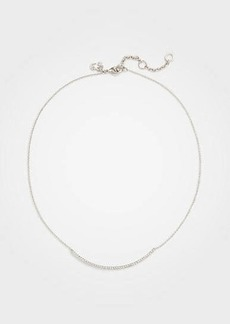 Ann Taylor Pave Bar Necklace